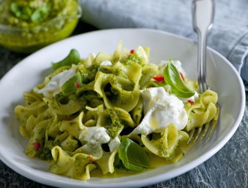 nuvole alle zucchine zafferano e pistacchi ricetta Sale&Pepe
