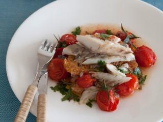 ombrina-allacquapazza-con-pomodorini-confit ricetta