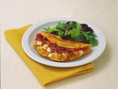 omelette con patate e speck ricetta