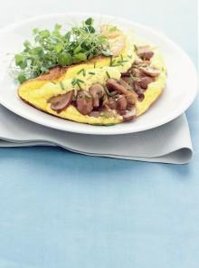 Omelette soufflé agli champignon
