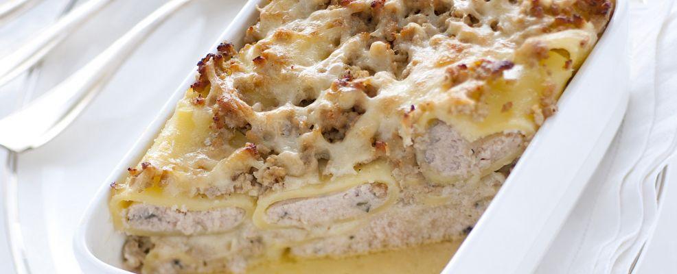 paccheri con crema di pollo Sale&Pepe ricetta