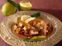 Pancakes con composta di frutta secca Sale&Pepe ricetta