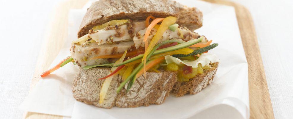 panino-con-verdure-al-curry-e-pollo ricetta