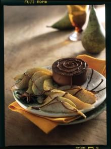 Panna cotta al cacao e maraschino