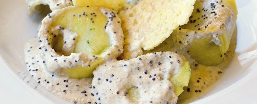 pansotti alla ligure con crema di noci Sale&Pepe