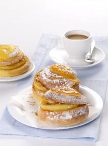 Le parigine con mele caramellate e cannella