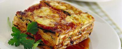 parmigiana di melanzane e zucchine alla griglia ricetta