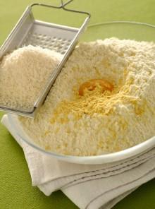 La pasta brisée al formaggio