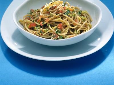 pasta-al-pesto-ammaccato ricetta