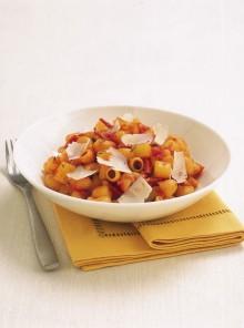 La pasta e patate con lo speck