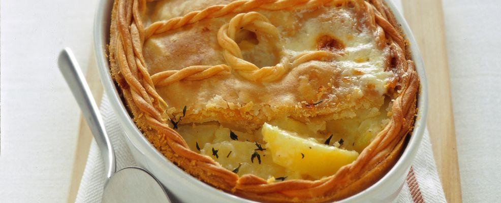 pate-de-pommes-de-terre-francia foto