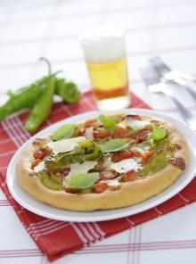 La pizza peperoncina