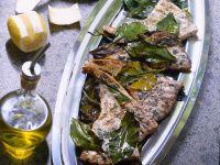 pesce spada in foglie di limone Sale&Pepe ricetta