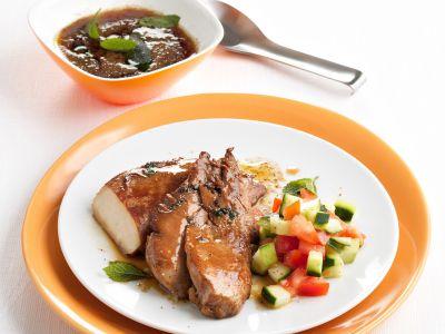 petti di pollo glassati in agrodolce ricetta