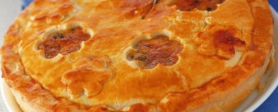 pie-di-funghi-porcini-scarola-e-noci ricetta