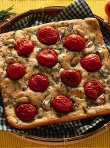 Pizza rustica al rosmarino