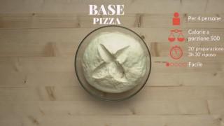 La pasta di base per la pizza