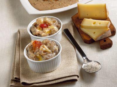 polenta di grano saraceno con cavolfiore e speck