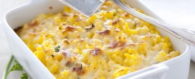 polentina-tartufata-con-formaggi-e-carciofi ricetta