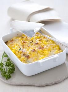 Polentina tartufata con formaggi e carciofi