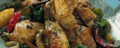 pollo-al-forno-con-lananas