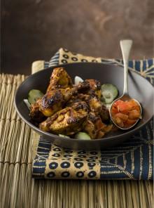 Pollo Katoum, semplicità e gusto dalla Costa d'Avorio