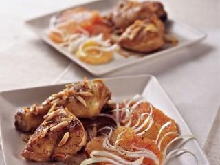 pollo marinato con insalata di arance Sale&Pepe