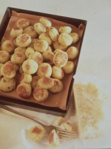 Polpettine di fagioli al forno