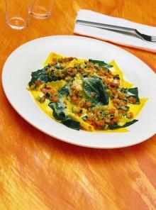 Le lasagnette con verdure