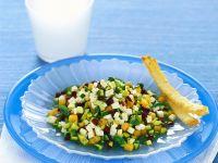 primosale con zucchine, olive e melone Sale&Pepe ricetta