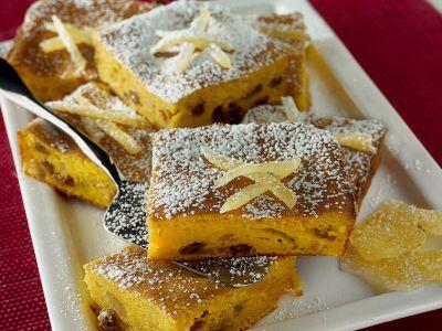 quadrotti dolci di zucca ai canditi ricetta