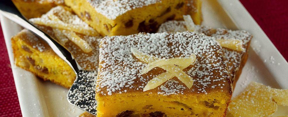 quadrotti dolci di zucca ai canditi Sale&Pepe ricetta