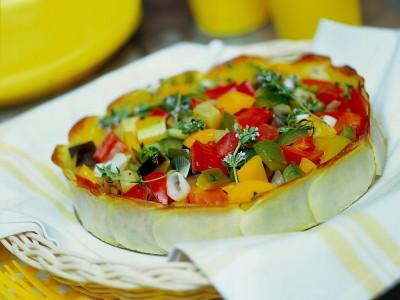 ratatouille-agrodolce-nel-guscio-di-patate ricetta