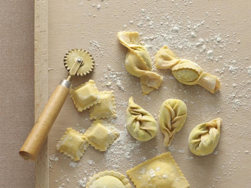 ravioli a fagottino Sale&Pepe ricetta