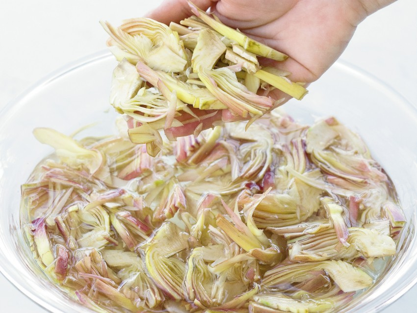 ravioli-di-carciofi ricetta