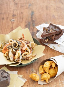 I coculli fritti di farina di ceci