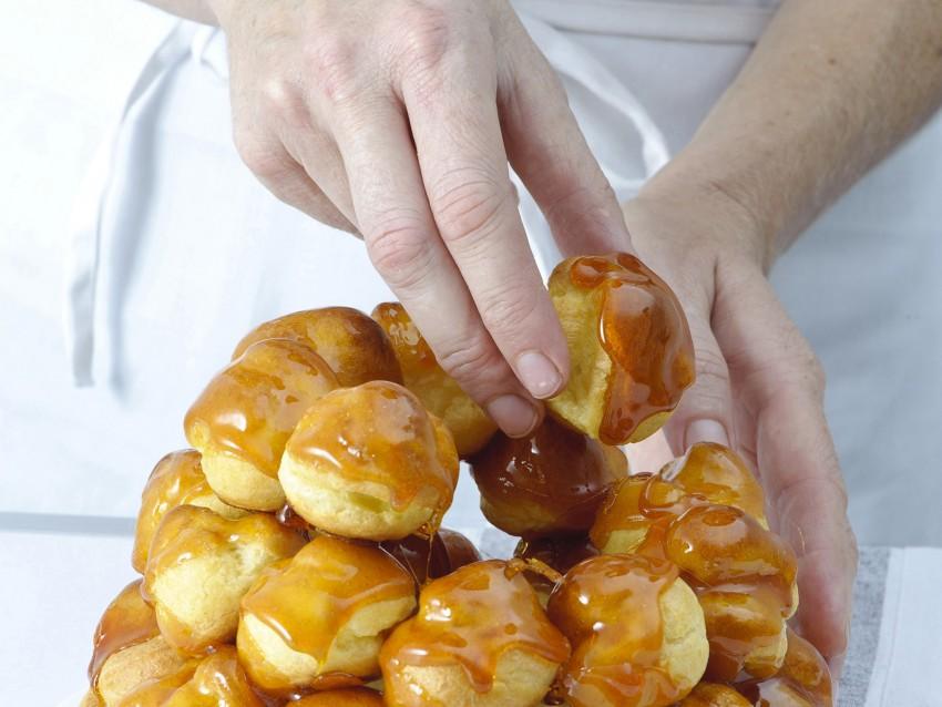 ricetta croquembouche in gabbia dorata Sale&Pepe