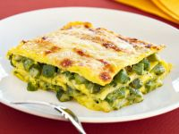 ricetta lasagna-allo-zafferano-con-gli-asparagi