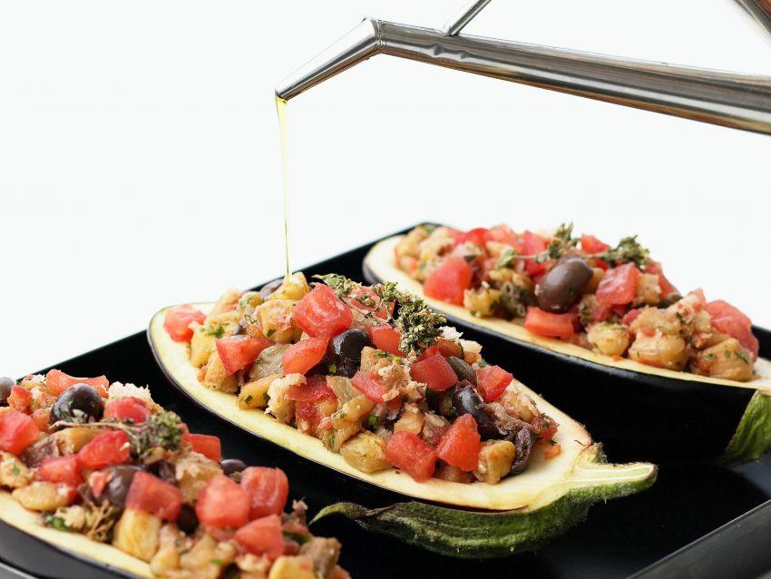 ricetta melanzane al forno ripiene Sale&Pepe