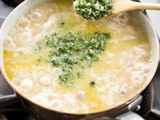 ricetta minestra-di-orzo-e-fagioli