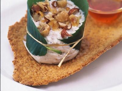 ricottine-in-foglia-di-castagno ricetta