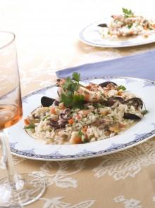 Il riso ai frutti di mare