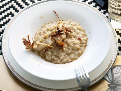 risotto-con-crema-di-carciofi