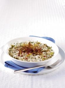 Il risotto di mare con carciofi