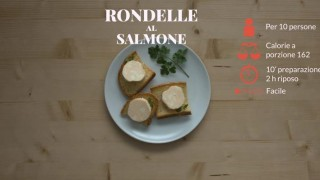 Le rondelle al salmone