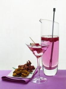 Il rosato ai lamponi con mandorle