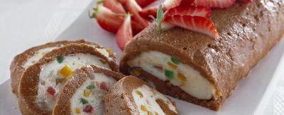 rotolo con coulis di fragole ricetta