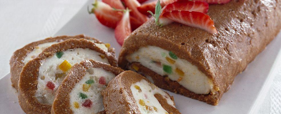 rotolo con coulis di fragole ricetta Sale&Pepe