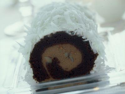 rotolo di castagne al cocco ricetta