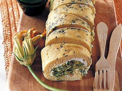 rotolo di frittata con zucchine ricetta